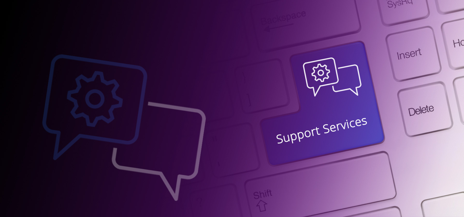 Support Services Header